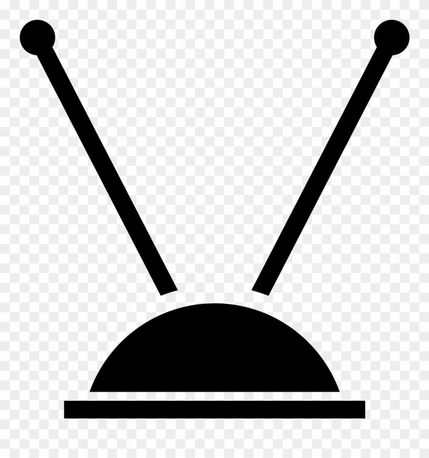 Tv Clipart Tv Antenna.