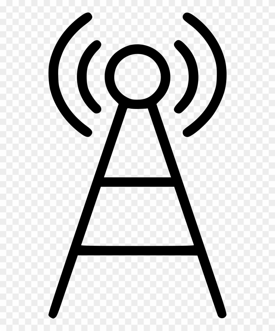 Antenna icon clipart Transparent pictures on F.