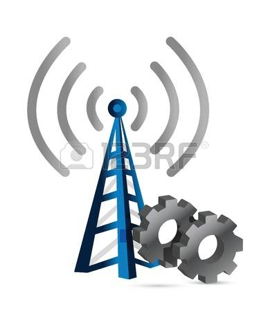 5,407 Antenna Tower Stock Vector Illustration And Royalty Free.