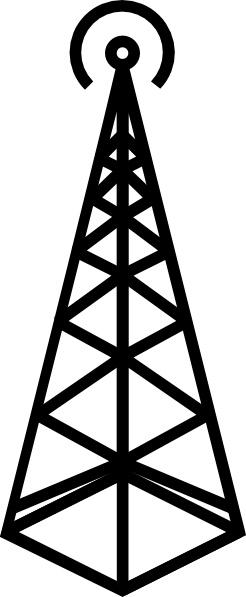 Antenna Tower Clip Art.