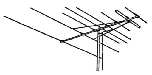 Tv antenna clip art.
