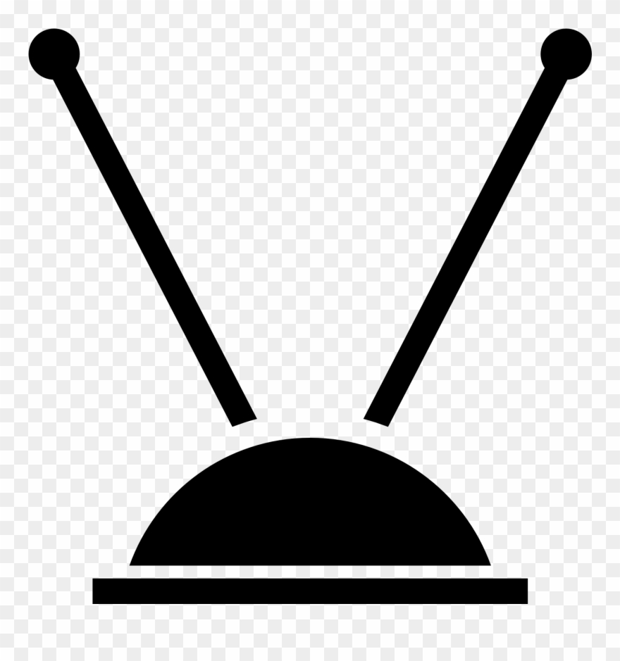 Tv Clipart Tv Antenna.