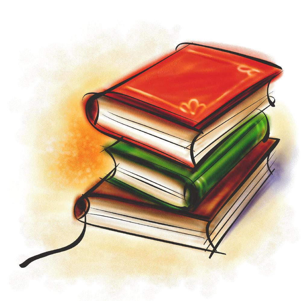 Textbooks Clipart.