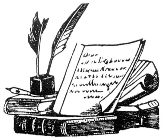 Poetry Clip Art Images.