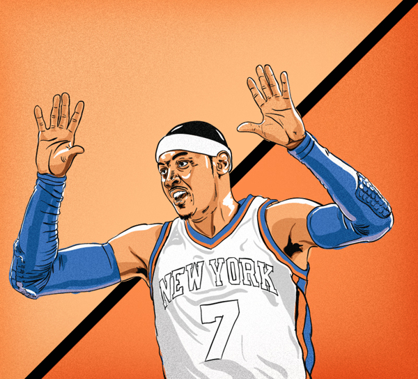 Carmelo anthony clipart.