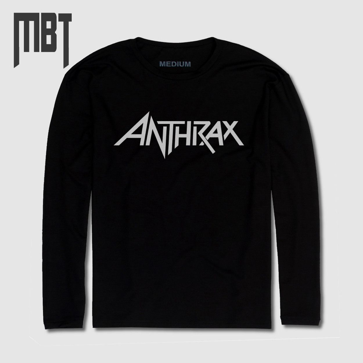 Anthrax Band Long Sleeve T.
