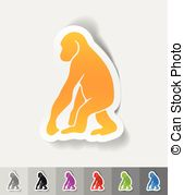 Anthropoid Clip Art Vector Graphics. 32 Anthropoid EPS clipart.