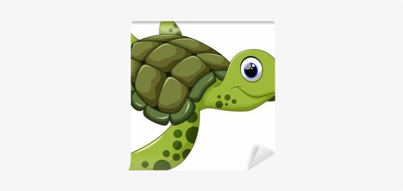 Loggerhead Turtle Clip Art PNG Image.