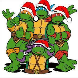 ninja turtles christmas.