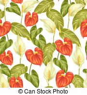 Anthurium Illustrations and Stock Art. 140 Anthurium illustration.