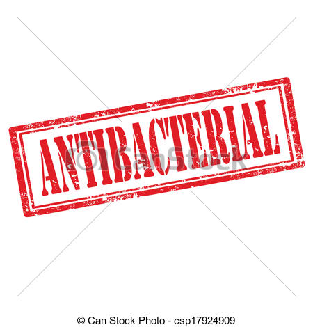 Vector Clipart of Antibacterial.