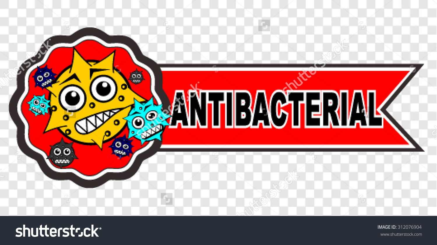 Antibacterial Vector Stock Vector 312076904.