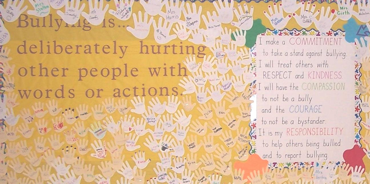 Students Pledge to End Bullying.