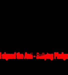 Anti Bullying Pledge Clip Art.