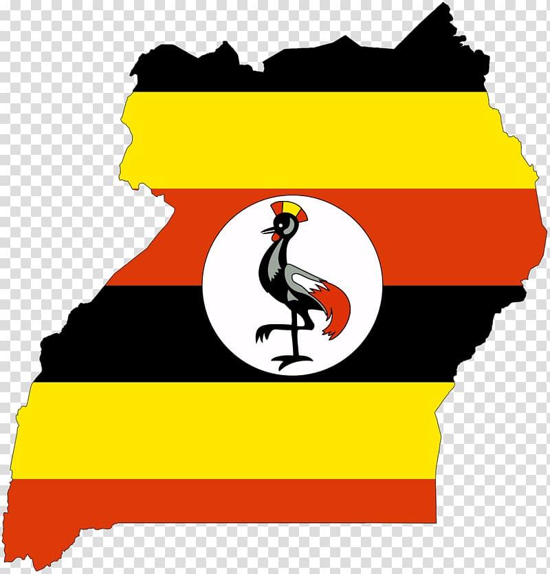 Flag of Uganda Map National flag, anti corruption.