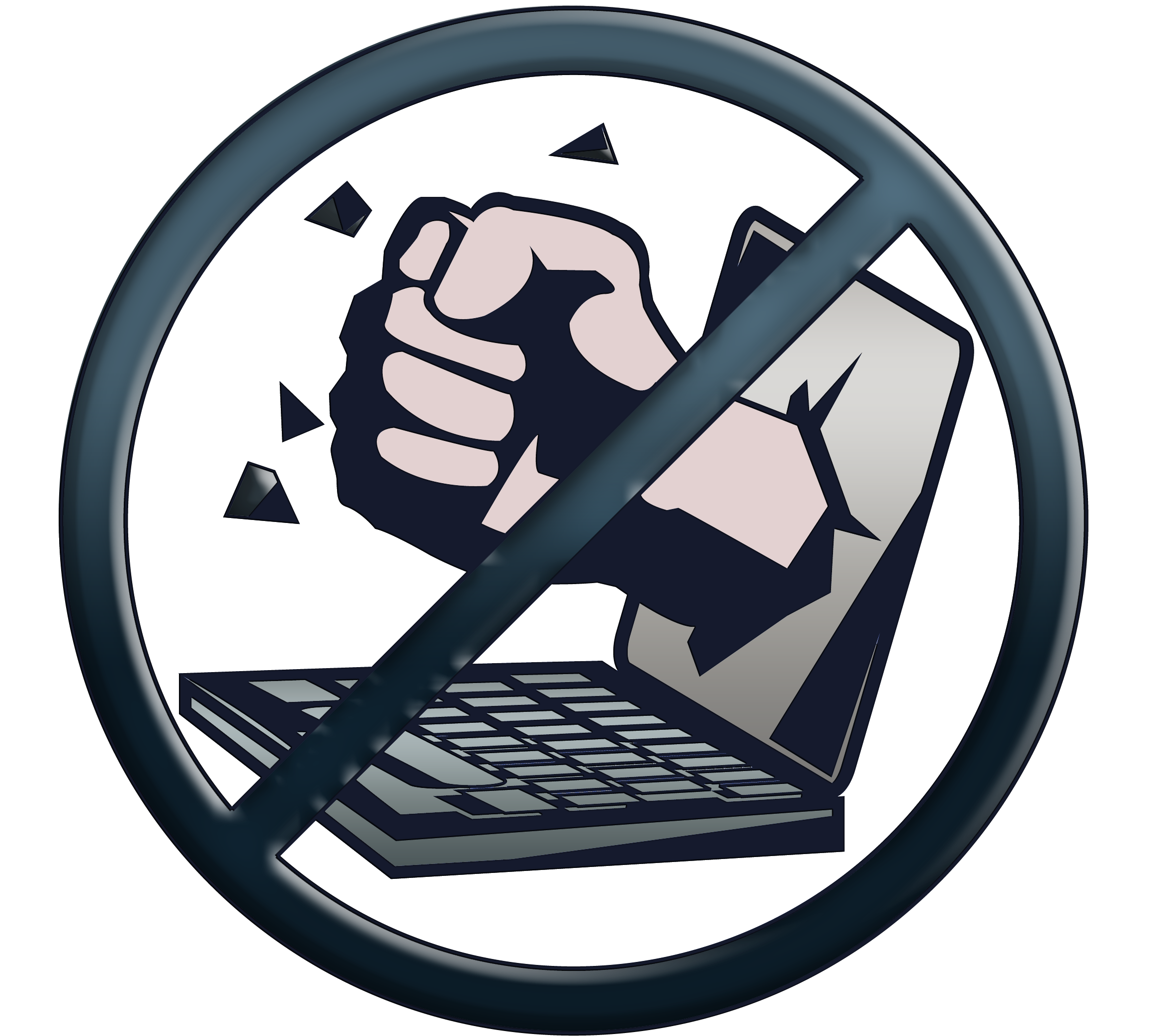 Anti Cyber Bullying Clipart.