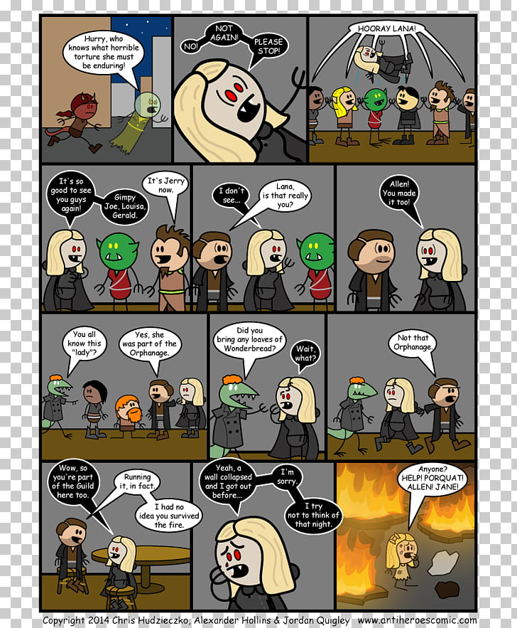 Comics Cartoon Character Recreation, anti hero PNG clipart.