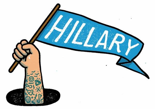 Hillary Supporters Can Now \'Be Public\' on Facebook.