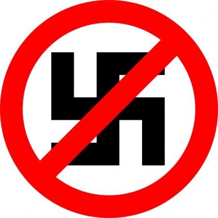 Anti Nazi Symbol clip art Clipart Graphic.