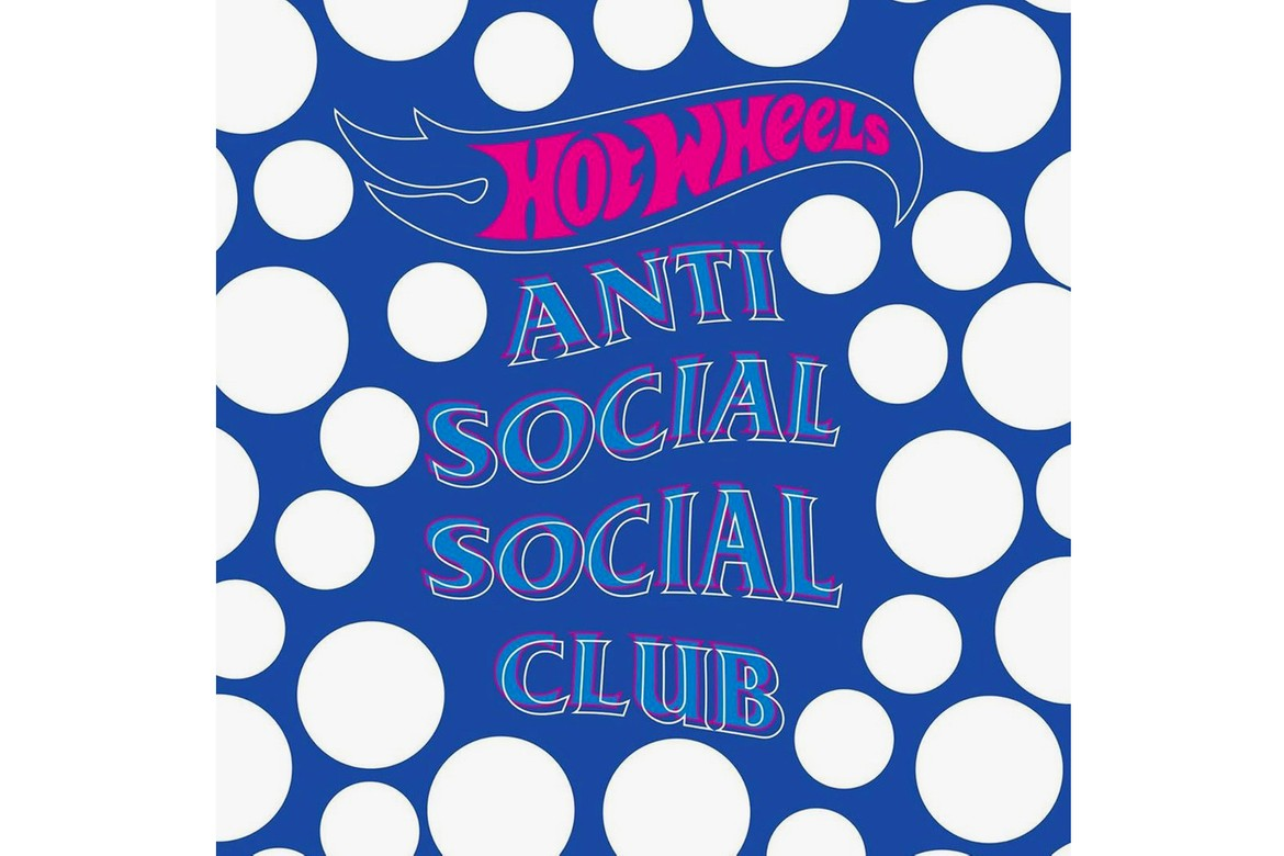 Anti Social Social Club Teases Hot Wheels Collab.