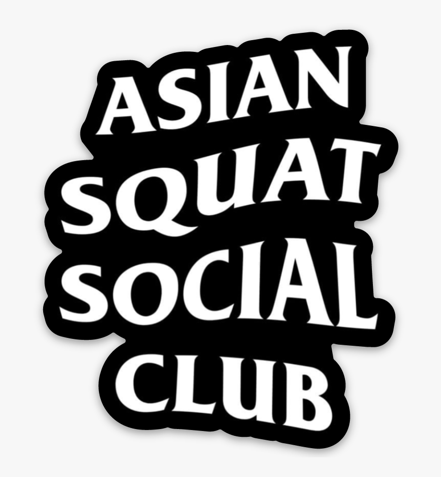 Anti Social Social Club Logo Sticker.