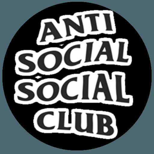 Anti Social Social Club Transparent Logo.