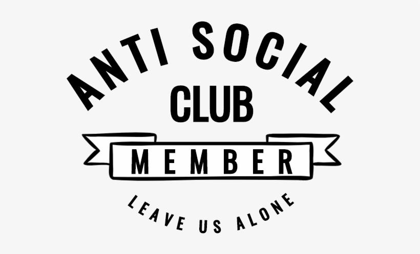Anti Social Club.