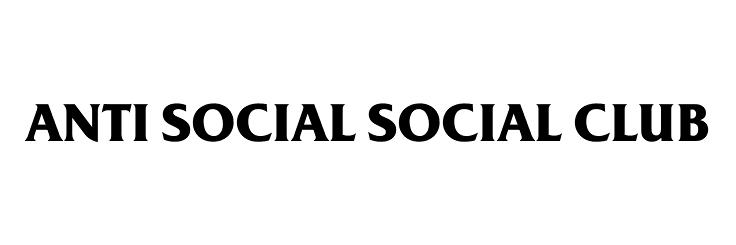 Anti Social Social Club Font.