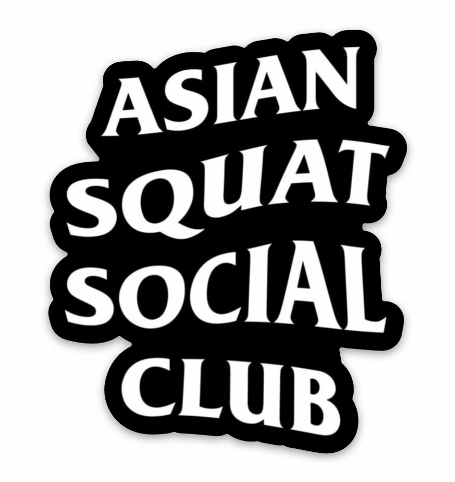 Anti Social Social Club Logo Sticker Free PNG Images & Clipart.