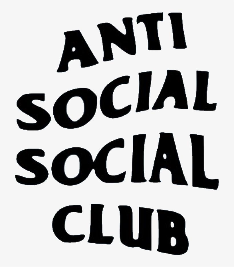 Anti Social Antisocialsocialclub Club Sticker Remixit.
