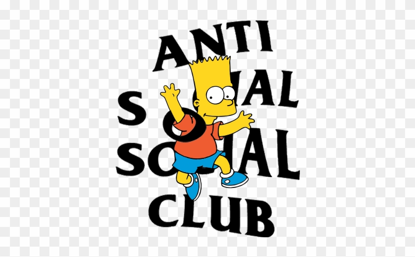Anti Social Social Club Png.