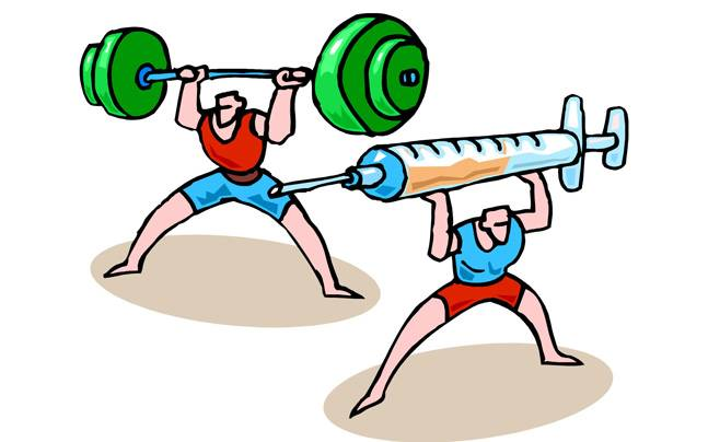 Extreme use of steroids could weaken bones.