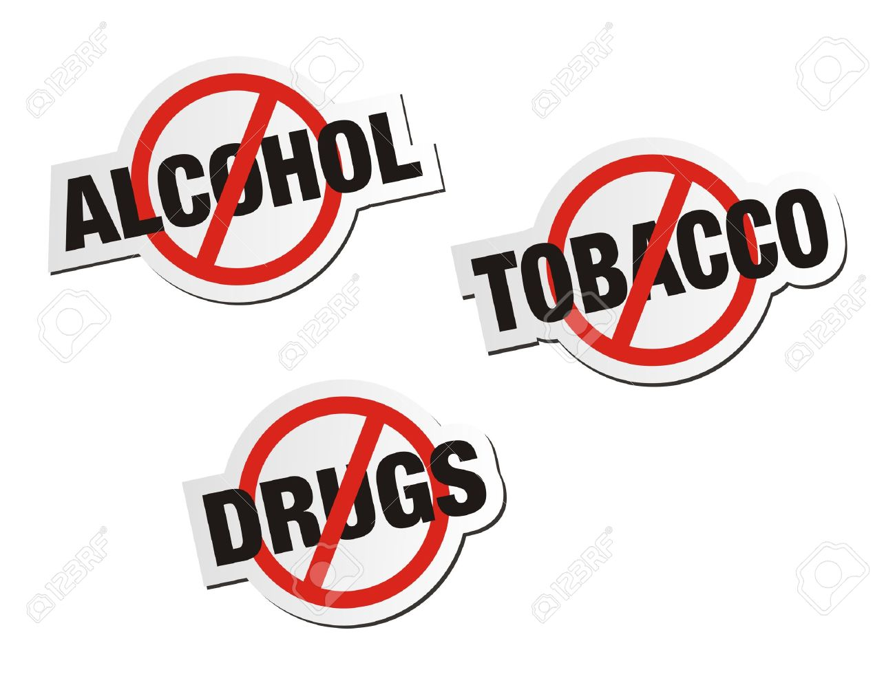 1434 Alcohol free clipart.
