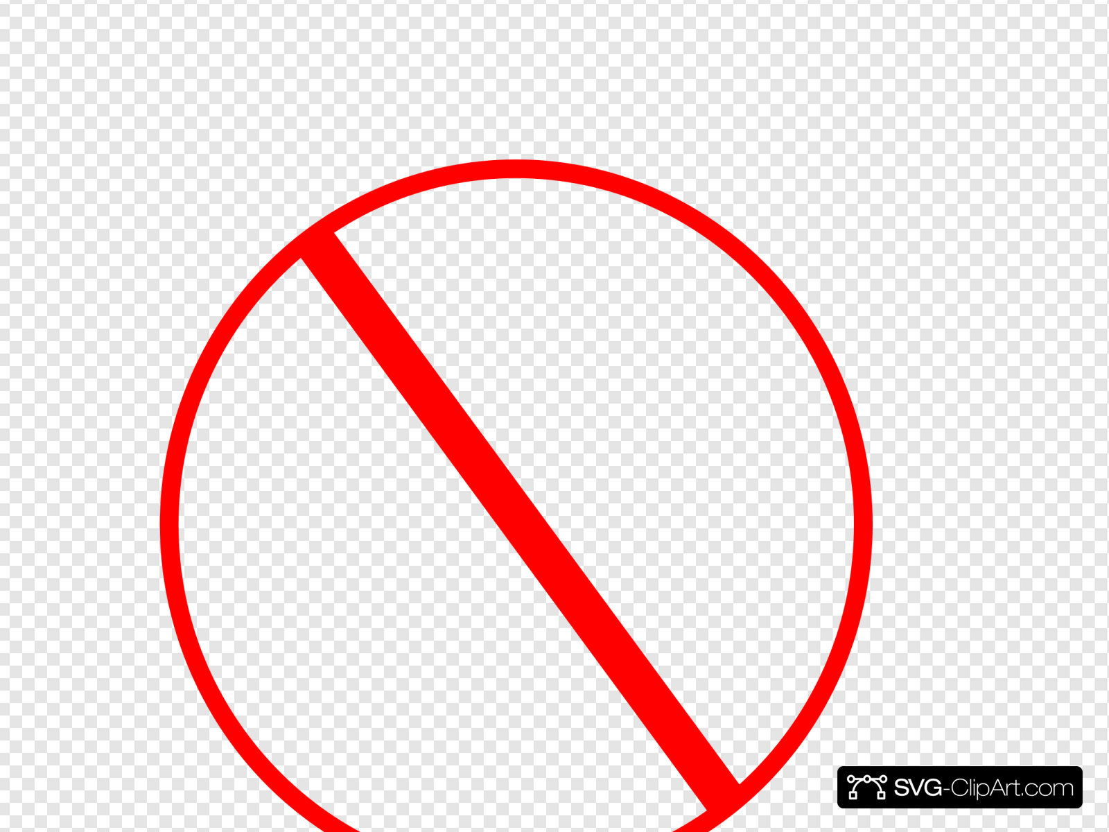 Anti Symbol Clip art, Icon and SVG.