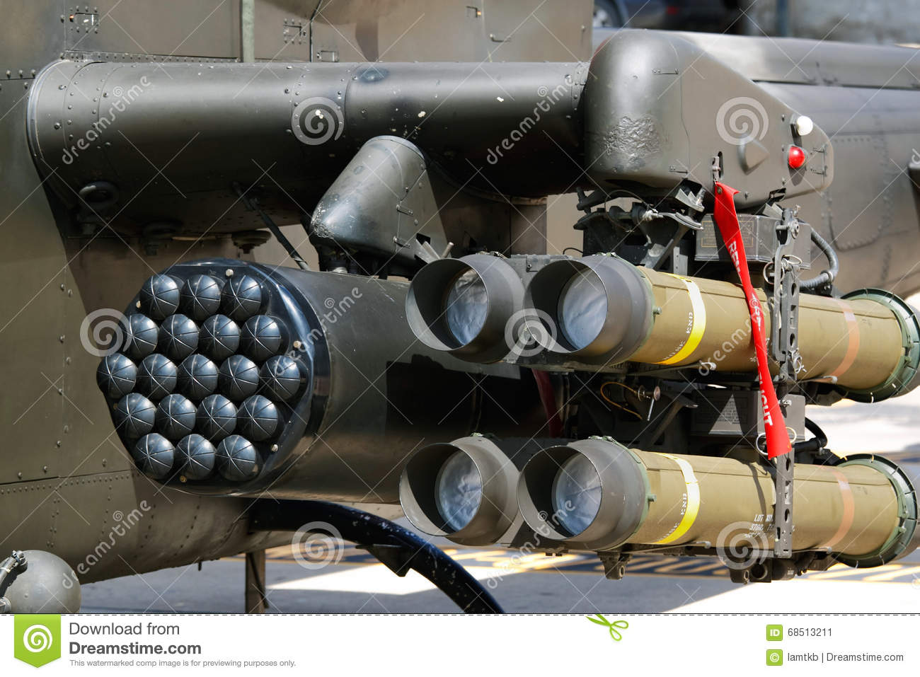 Missile And Rocket Launcher Stock Photo.