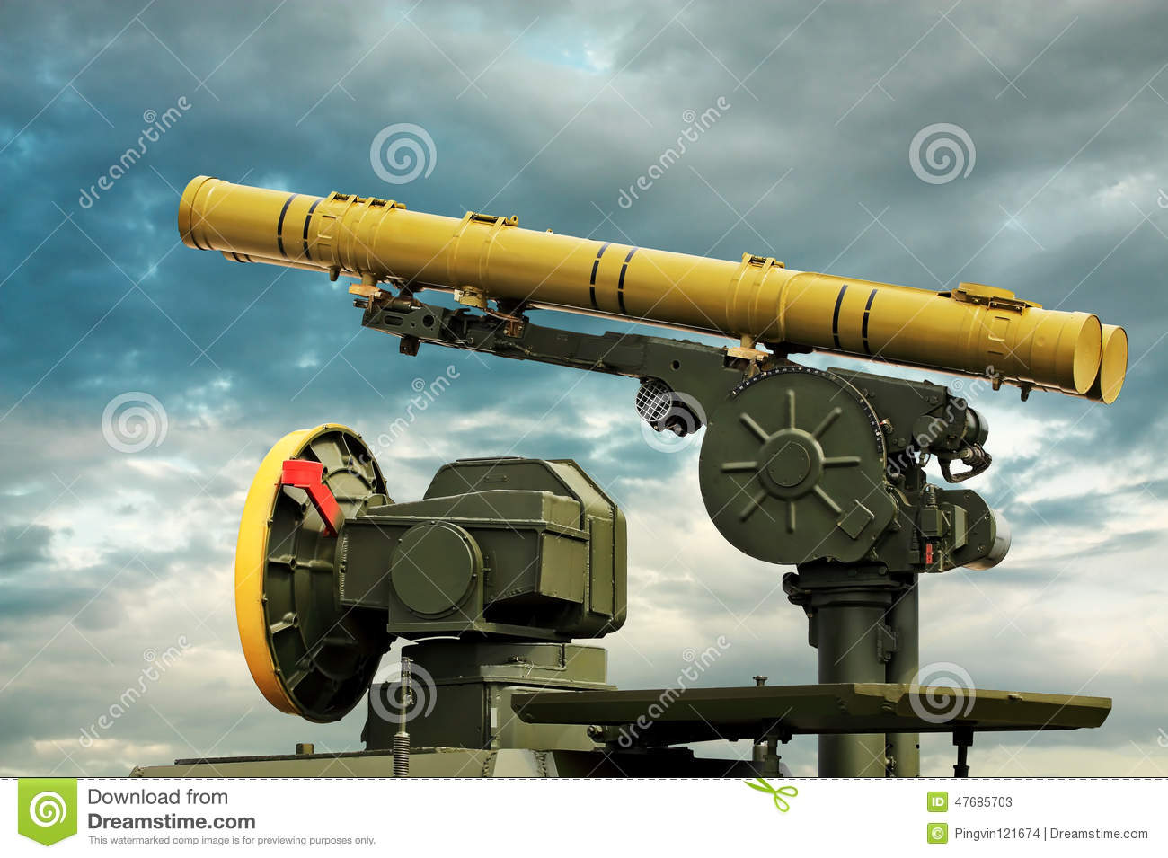Anti tank missile clipart #16