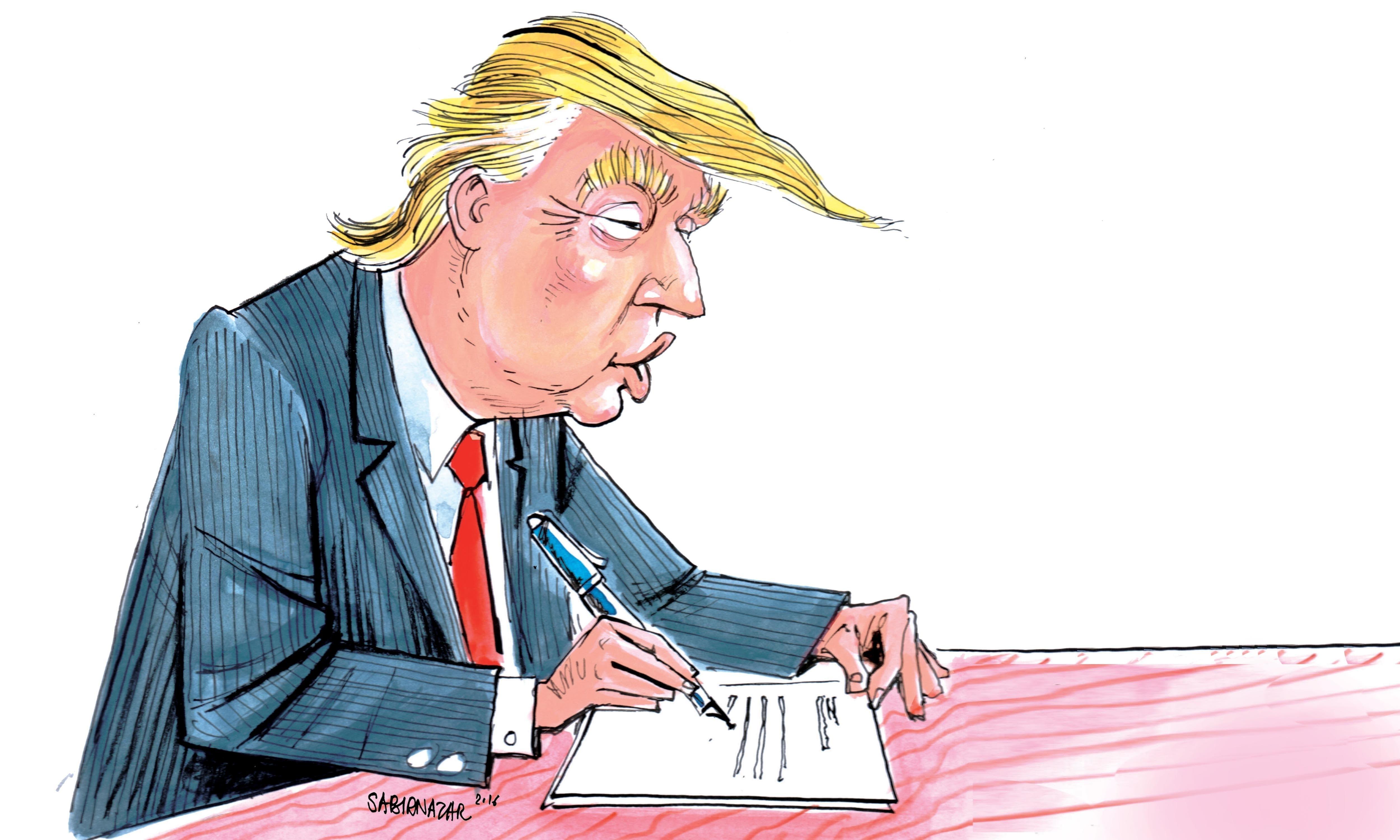 Satire: Diary of Donald Trump.