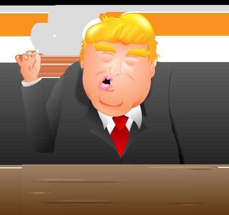 I created some Donald Trump Emojis.
