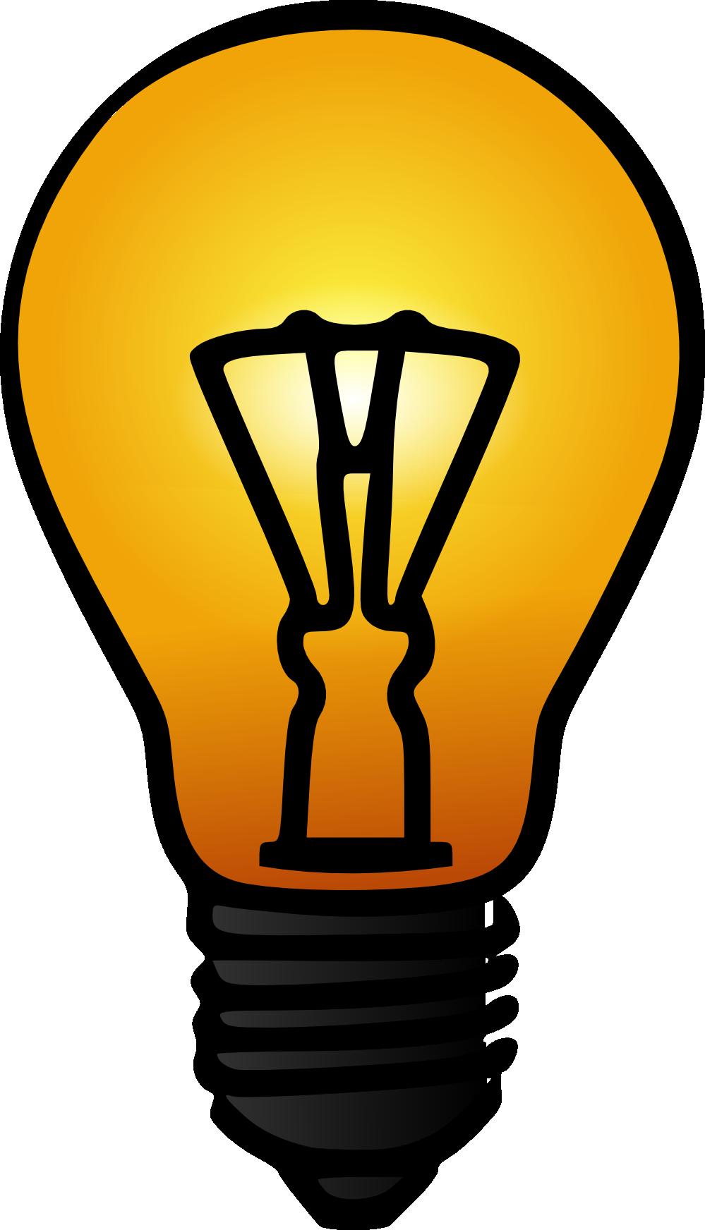 Fluorescent Light Bulbs Clip Art.