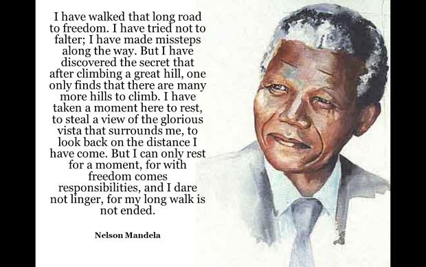 Nelson Mandela, revered statesman and anti.