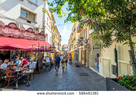 Antibes France Stock Images, Royalty.