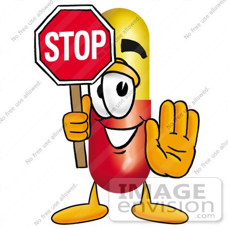 Stop Antibiotics Clipart.