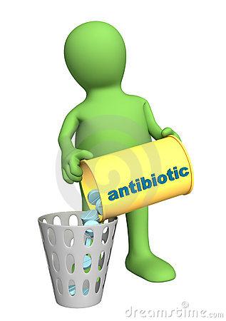 Antibiotics Stock Illustrations.