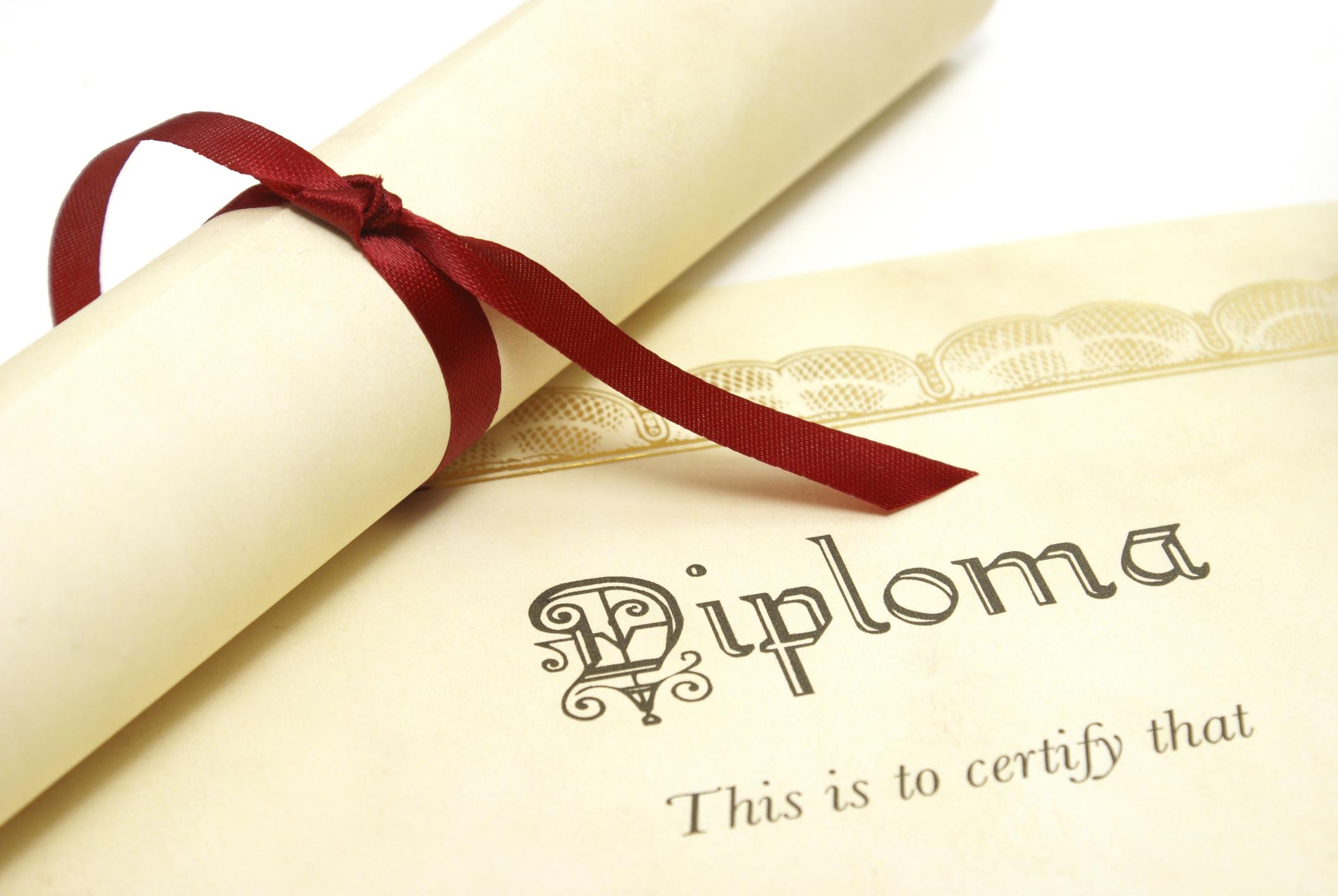 Clipart High School Diploma.
