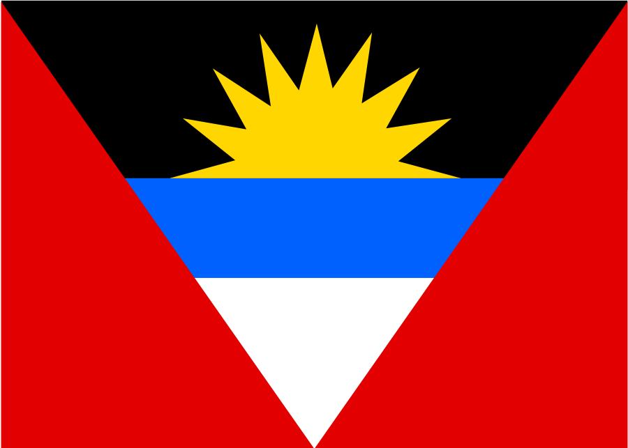 Antigua and barbuda flag clipart.