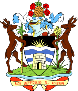 Coat Of Arms Of Antigua And Barbuda clip art Free Vector / 4Vector.