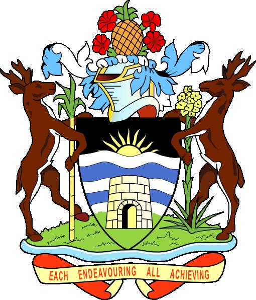 Coat Of Arms Of Antigua And Barbuda clip art Free Vector / 4Vector.