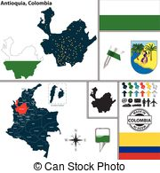 Antioquia Clip Art Vector Graphics. 14 Antioquia EPS clipart.