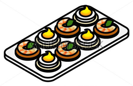 Gallery For > Tartines Clipart.