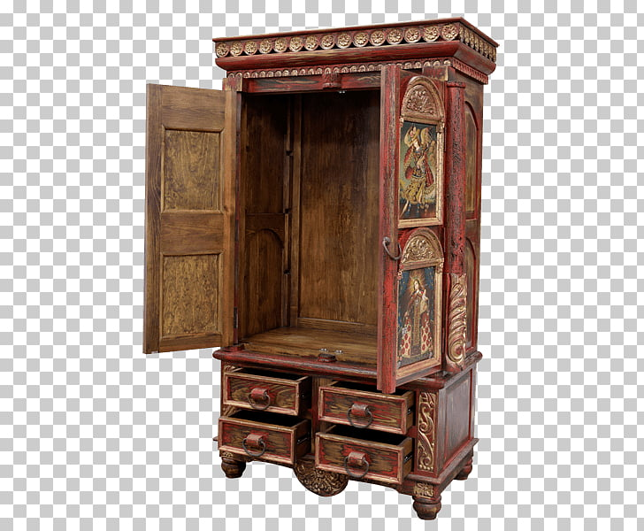 Cupboard Armoires & Wardrobes Antique, Armoire Furniture PNG.